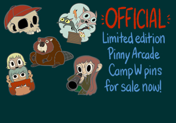 Official Pinny Arcade pins!