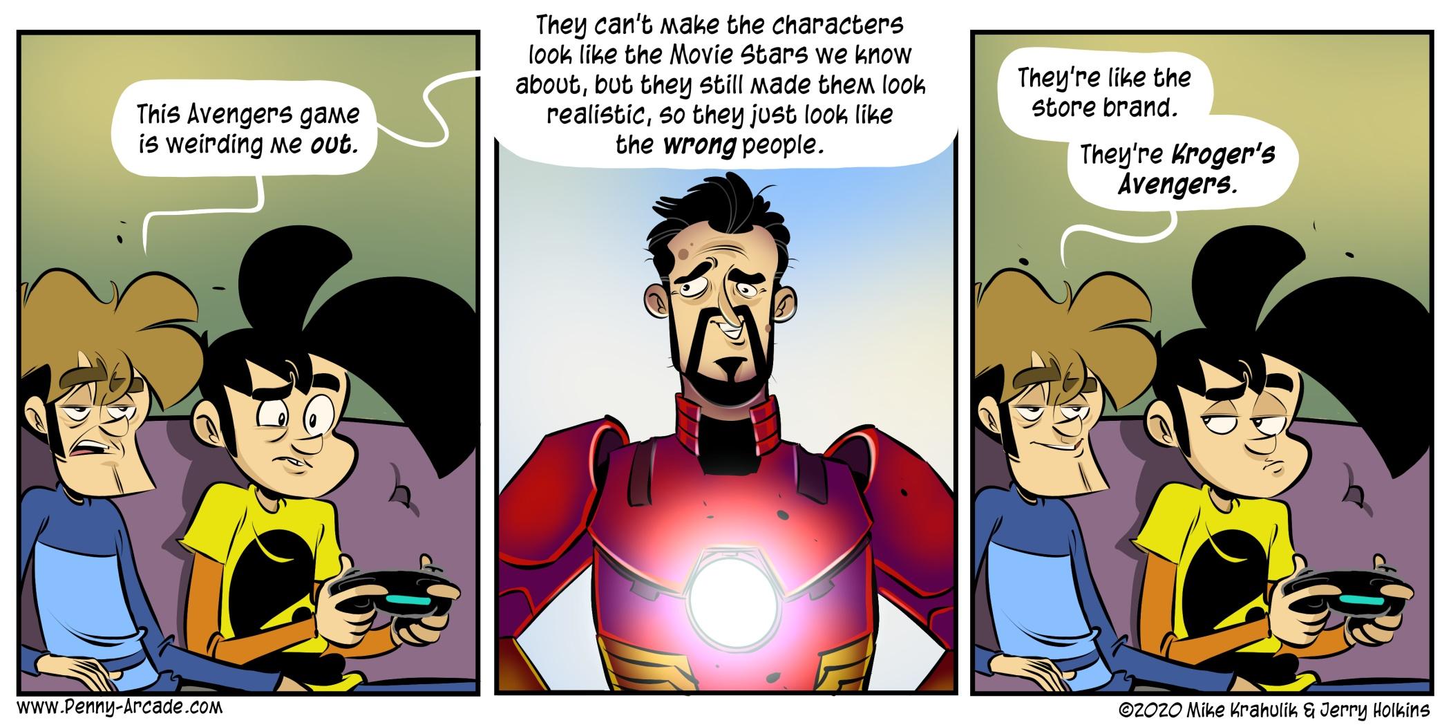 Avengers Resemble