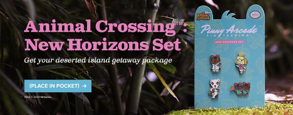Animal Crossing™: New Horizons Pin Set