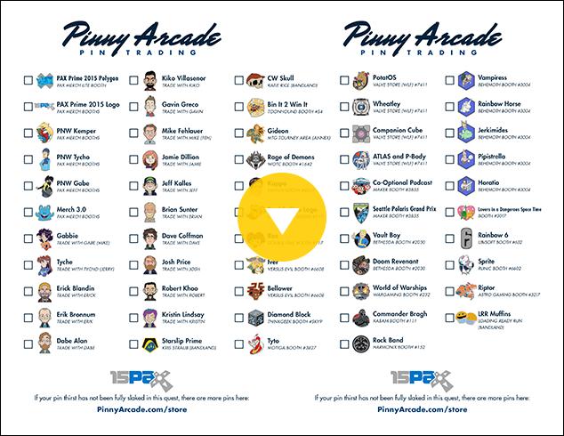 PAX Prime 2015 Pin Quest Image