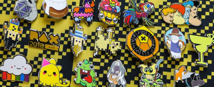 PAX Aus 2018 Pinny Arcade Pin Quest!
