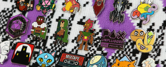 PAX Unplugged Pin Quest!