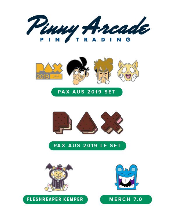 PAX AUS 2019 Show Pins