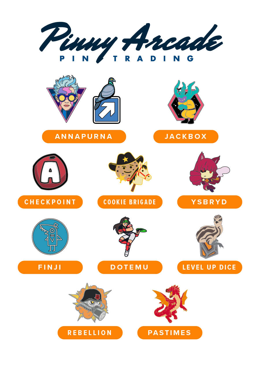 PAX South 2020 Partner Pins