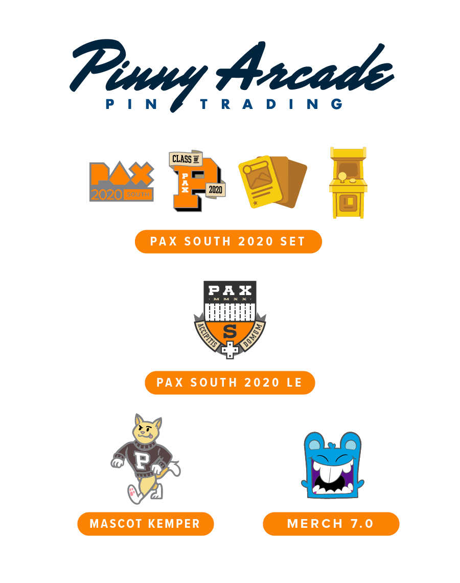 PAX South 2020 Show Pins