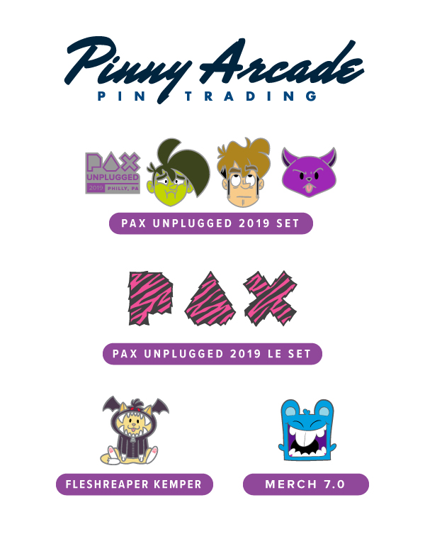 PAX Unplugged 2019 Show Pins
