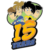 15th Anniversary Pin