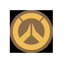 Gold Overwatch Emblem