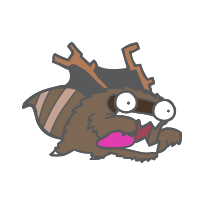 Raccoon Monster